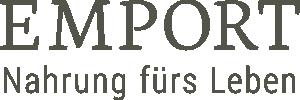 Logo der Firma EMPORT Nahrung fürs Leben